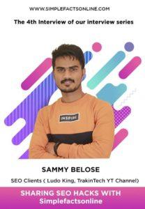 SEO in 2019 With Sammy Belose