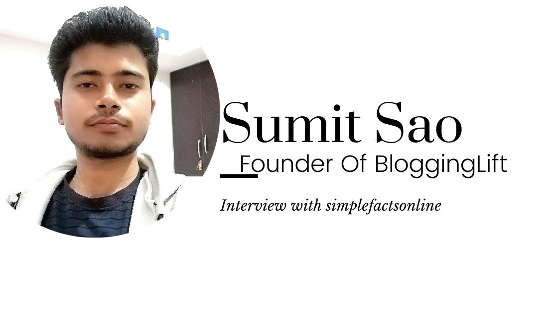 Interview Sumit Sao