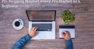 Pro Blogging Mindset