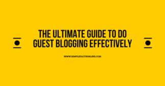 Guest Blogging Secrets